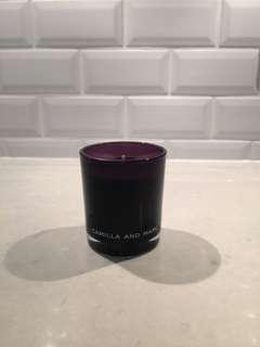Camilla and Marc candle