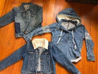 Denim jackets!!