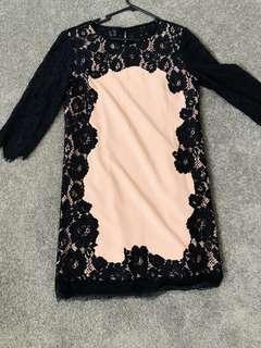 Dress size M