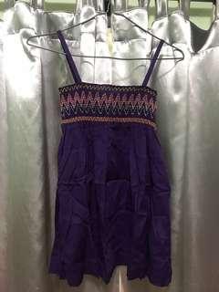 B+ab Jeans 紫色吊帶衫
