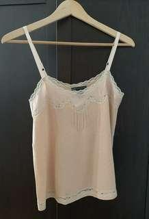 Preloved MNG Pink Blush Camisole, Size S