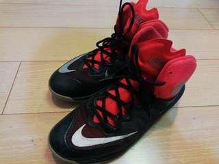 Nike prime hype DF 2 籃球鞋 黑紅