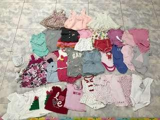 🚚 Blessing bundle of baby girls clothes (3-12months)