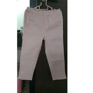 Uniqlo kids girls cropped pants - New with tag