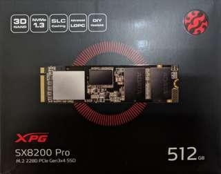 ADATA XPG SX8200 Pro 512GB M.2 SSD