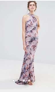 Asos Jarlo Wedding High Neck Maxi Dress with Fishtail