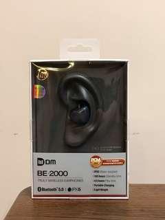 德國 DM be-2000 藍芽耳機 99.9% 只開盒睇過