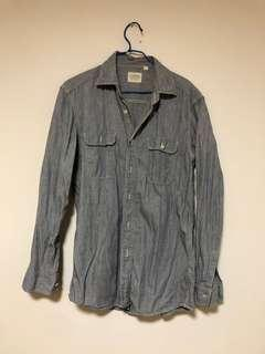 Men's worker strap shirt size S