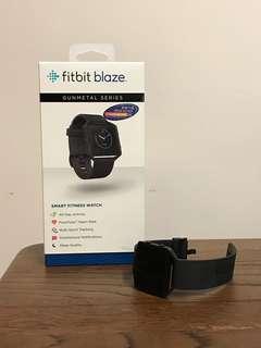 Fitbit Watch / blaze gunmetal colour - size L