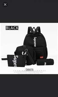 💯✔New Instock! Supreme Set of 4 bags FREE DELIVERY PROMO!