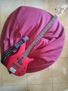 Yamaha RBX 170 Crimson Red Bass Guitar