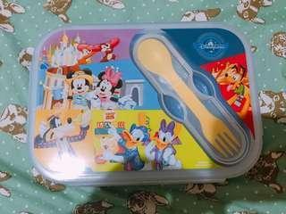 🚚 全新 香港迪士尼便當盒#我單身我驕傲