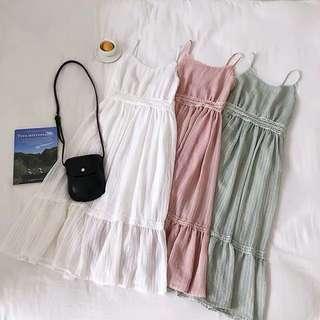 🚚 [PO] Lace Flutter Dress