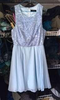 Pretty light blue dress #SwapNZ