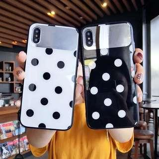 casing with makeup mirror