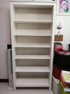 Preloved Ikea White Book Shelf