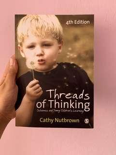 🚚 Threads of thinking by Cathy Nutbrown
