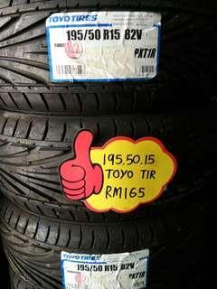 195/50/15 toyo tires T1R