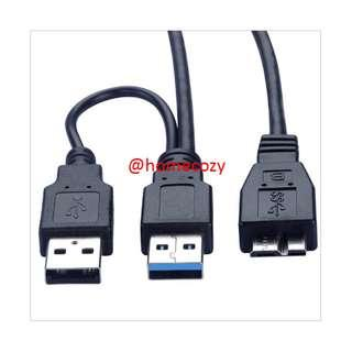 (BN) USB 3.0 A Male to Micro B Premium Charging & Data Transfer Cable - 1m (Brand New)