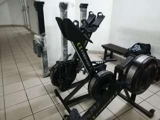 Gym use concept 2 rower