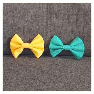 Handmade bow tie for dog instock