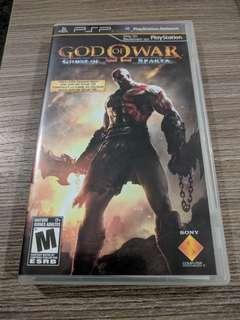 PSP UMD God of war Ghost of sparta