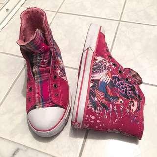 Ed hardy high top sneaker shoes #swapca
