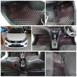 Myvi 2018-2019 car mat