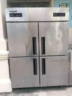 Promotion!4 door upright chiller and freezer $1200