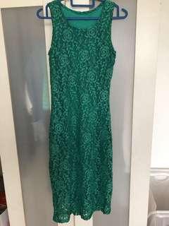 🆕Green Lace Dress