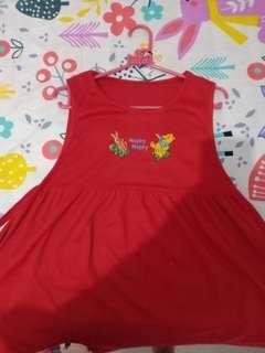Dress Merah anak cewek