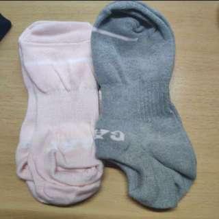全新 Gap女裝船襪 灰/粉紅 Socks