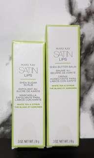 Mary Kay Lip Balm & Lip Scrub