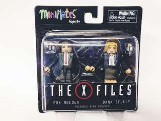 MiniMates The X Files mini figures