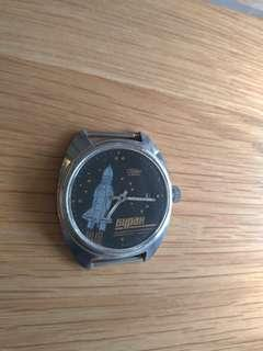 蘇聯製古董機械錶(不連錶帶)