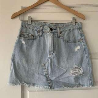 Nobody Denim Skirt Size 24