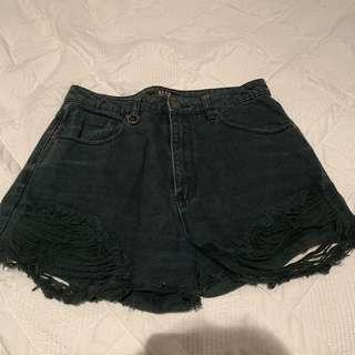 NEUW Denim Shorts Size 9/27