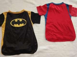 Kaos Superman dan Batman