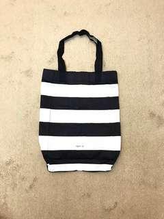 🚚 Agnes'b 條紋收納購物袋