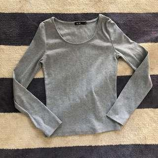 Grey long sleeve size medium