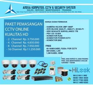 Jasa Pasang CCTV murah sebogor
