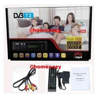(BNIB) DVB-T2 Mini Digital Setup Box Plug & Play For All Preset Mediacorp Channels - T700 (Brand New Boxed)