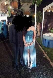 Blue Layer gown