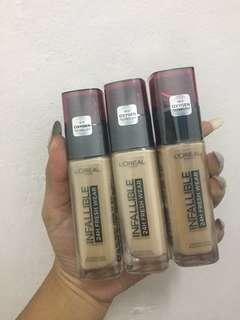 Foundation Loreal Infallibe
