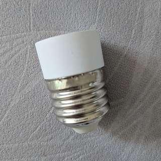 E14 to E27 bulb adapter