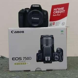 Canon EOS 750D, bisa dicicil tanpa Kartu credit
