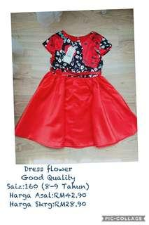 princess red dress