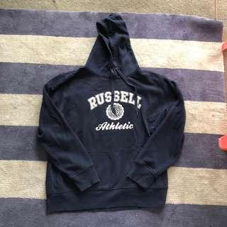 Russel athletic navy hoodie size large
