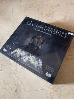 Game of Thrones 4d puzzle westeros