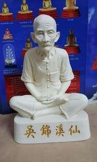 吳錦溪仙 供奉 當今泰國副僧王 金佛寺住持  大城府三傑之一的 龍婆噴 龍婆蘇拉薩 龍婆禪南